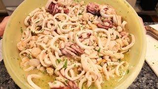 Feast of the Seven Fishes: Fish Salad - OrsaraRecipes