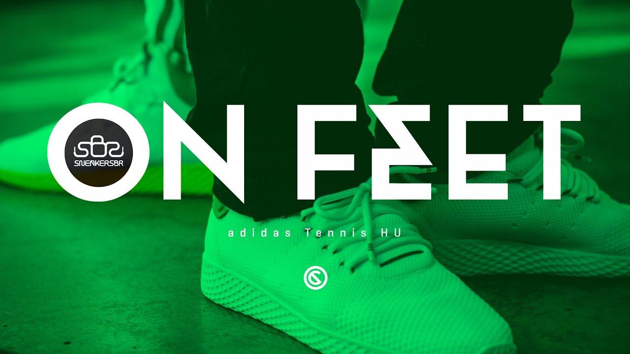 SneakersBR On Feet: adidas Originals = Pharrell Williams Hu NMD