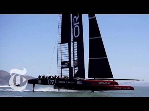 America's Cup 2013: 'Flying Machines' in Action | The New York Times