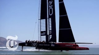 america s cup 2013 flying machines in action   the new york times