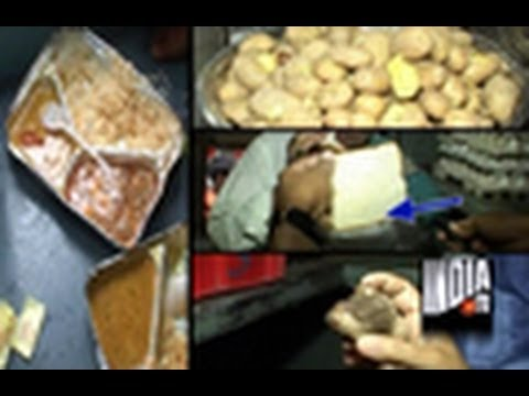 India TV expose kitchens in our trains, Part - 1