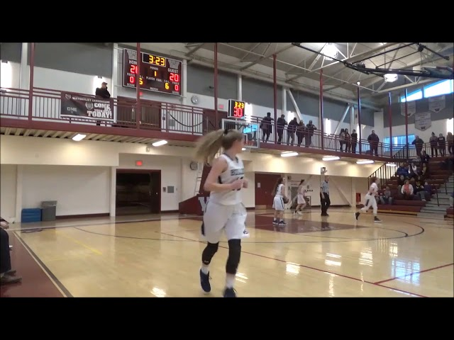 Game Highlights Girls' Varsity: Foothills 46 vs Colonial 58 (F)
