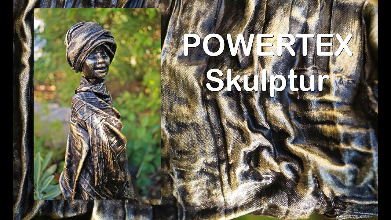 powertex skulptur   ruthvong - youtube