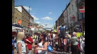 Roman Road Market, Tower Hamlets In 1 Min