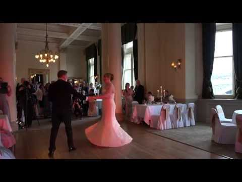 Lee Live (Wedding DJ), Edinburgh: The Balmoral Hotel - For Once In My Life - First Dance