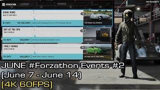 Forza Motorsport 7 - June #Forzathon Events #2 (June 7 - June 14) [4K 60FPS]