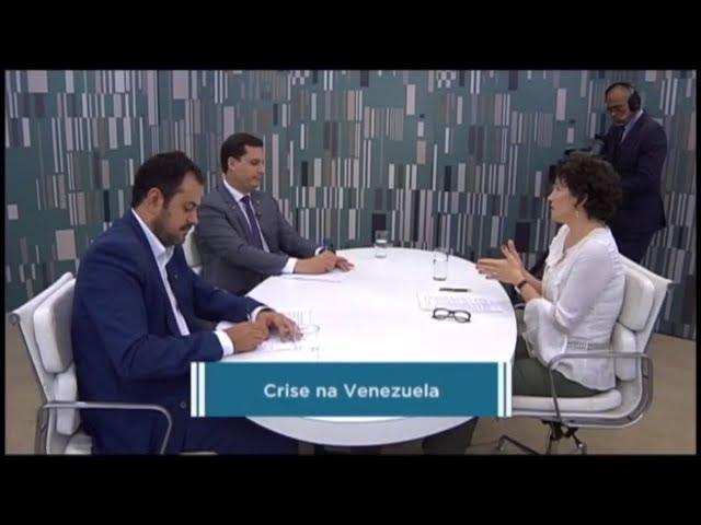 Deputados discutem crise na Venezuela