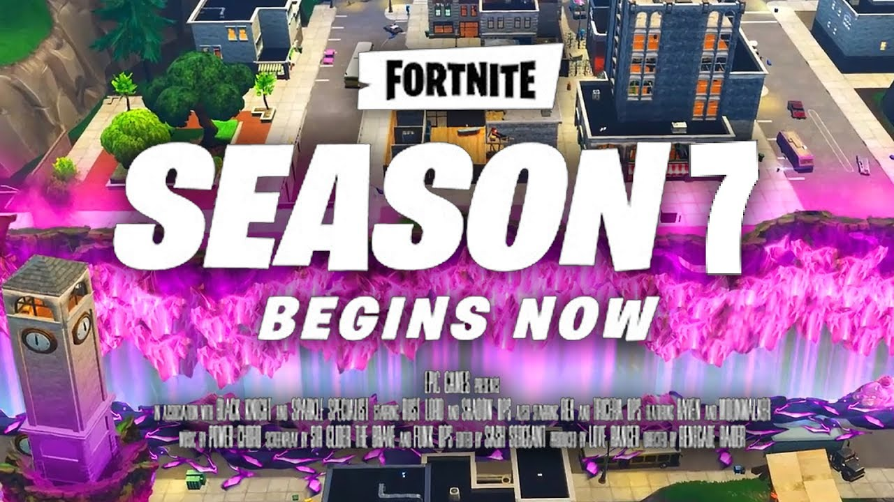 Fortnite Season 7 Trailer Fortnite Battle Royale New Trailer Youtube