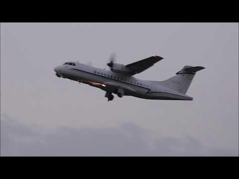 ATR 42 Visits Eastern WV Regional Airport (MRB)