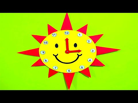 School Project Clock/ how to make clock / DIY/ Clock Model for ...