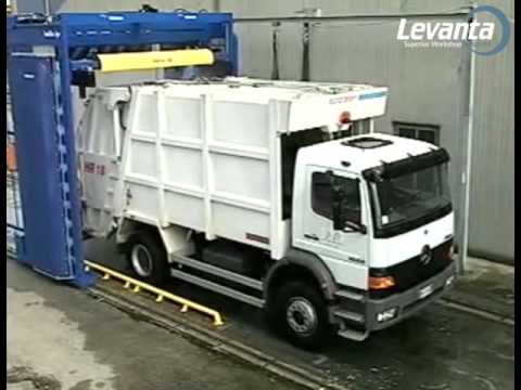 Baltic 420 HP Truck and Bus Washing System | Levanta