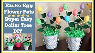 Easter Egg Flowers🌷 Super Easy Diy