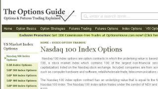 NASDAQ Index Options
