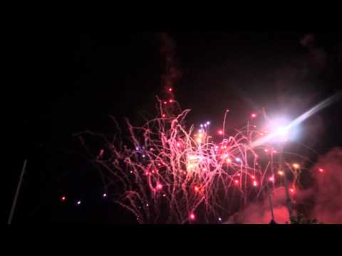 Sm City Clark 2nd pyro fest 2013