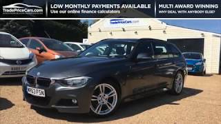 2013 BMW 3 SERIES 2.0 320D M SPORT TOURING FOR SALE | CAR REVIEW VLOG