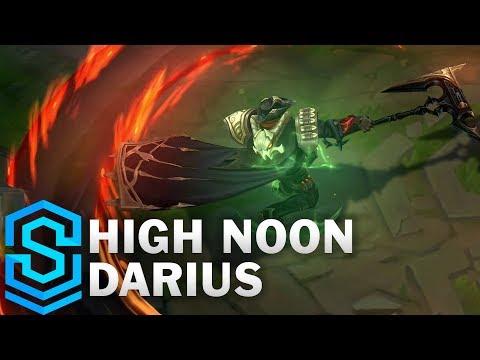 High Noon Darius Skin Spotlight - League of Legends