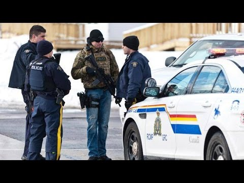 Shootings in Port Coquitlam British Columbia Police in Action December 2016