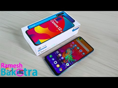Tecno Camon 12 Air Unboxing and Full Review