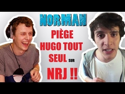 Norman piège Hugo tout seul sur NRJ !!