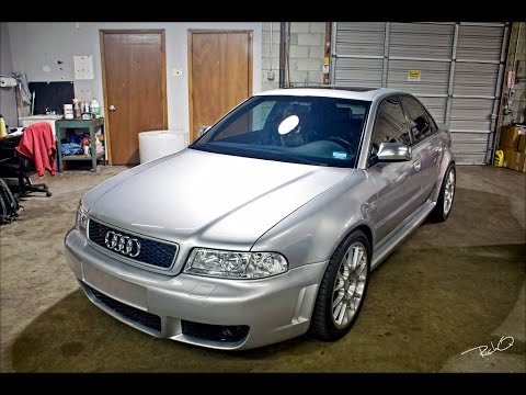 best audi b5 rs4 s4 a4 exhaust sounds youtube. Black Bedroom Furniture Sets. Home Design Ideas