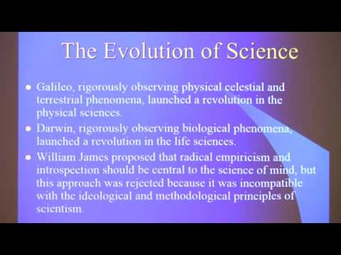 Lecture 3 - A Radically Empirical Approach to the Exploration of Consciousness