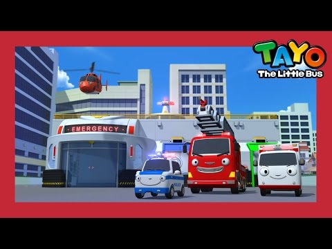 Tayo Season 4 New Emergency Center l Rescue Team l Tayo the Little Bus