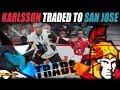 Erik Karlsson Traded to the San Jose Sharks