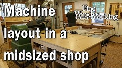 Machine layout in a midsized shop with Mike Korsak