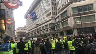Yellow vest demo London.. interesting times ahead 12/1/2019