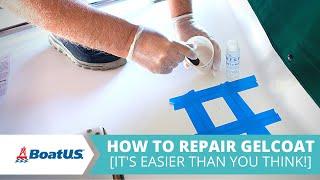How To Repair Boat Gelcoat [MATERIALS LIST] | BoatUS