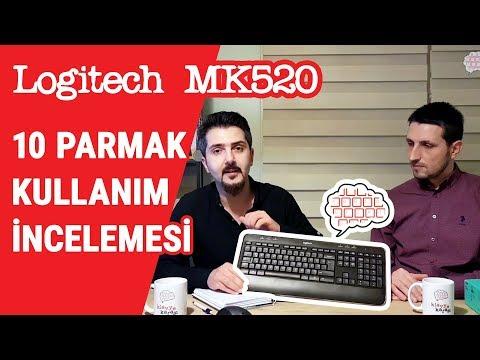 Logitech MK520 Klavye İncelemesi - 10 Parmak için Uygun mu?