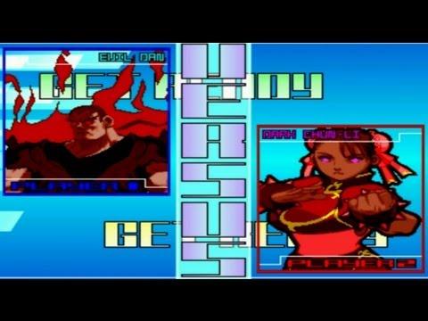 Evil Dan Vs Dark Chun-li - Batalhas Épicas #6 - 동영상