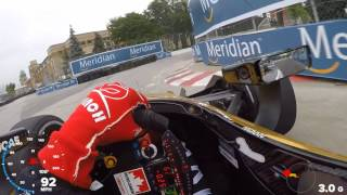 VISOR CAM: James Hinchcliffe On The Streets of Toronto