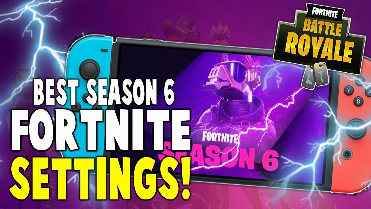 Best fortnite settings nintendo switch season 7