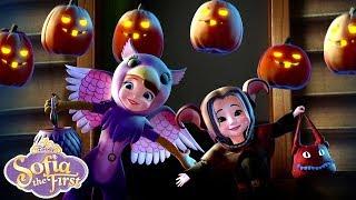 Super Spooky Night | Music Video | Sofia the First | Disney Junior