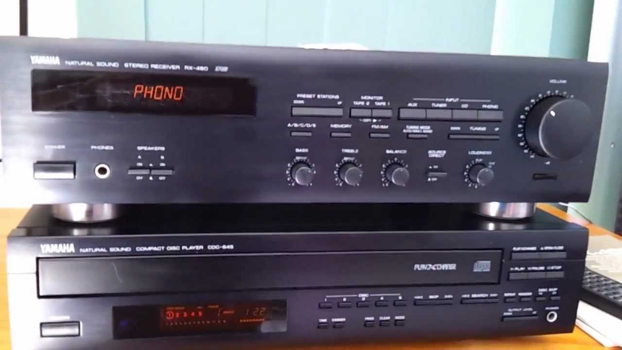 Yamaha Rx 460 Receiver Amp And Cdc 645 Cd Player On Ebay