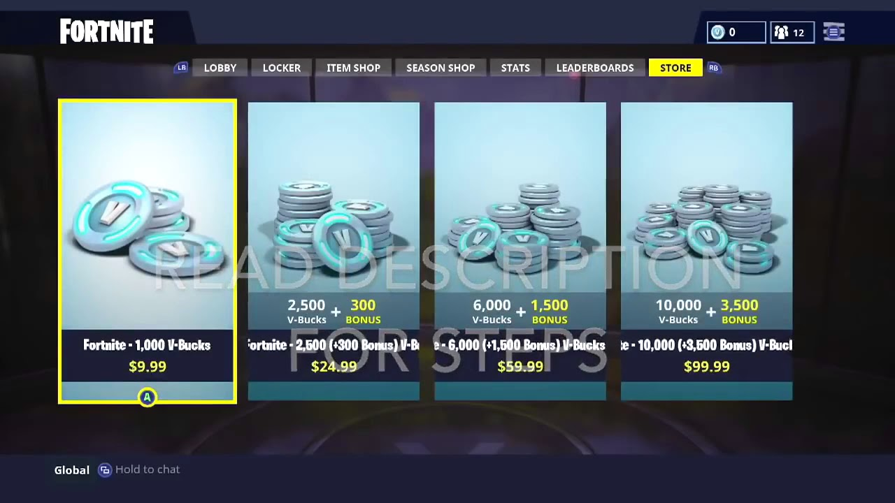 HOW TO GET FREE VBUCKS GLITCH *Working* (Not patched ...
