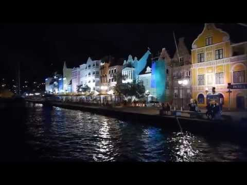 Queen Emma Bridge  - Willemstad Curaçao