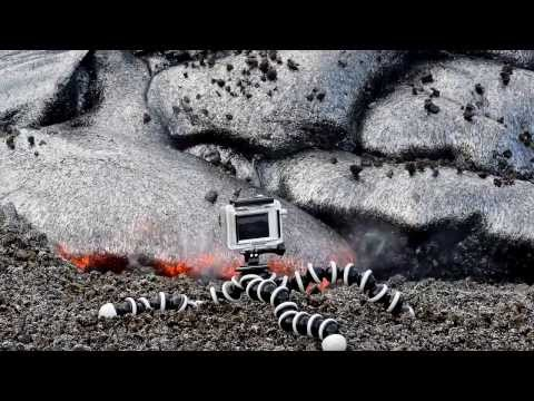 5 17 13 Lava Flow Hawaii Kilauea Volcano Lava Flow Nikon D800 GoPro Hero 2