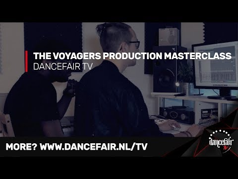 The Voyagers building a track in 30 minutes   Dancefair in the studio