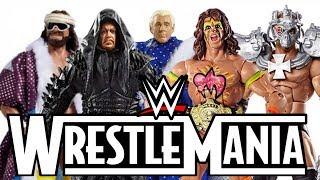 BEST WWE Action Figures - WRESTLEMANIA ATTIRE!!!