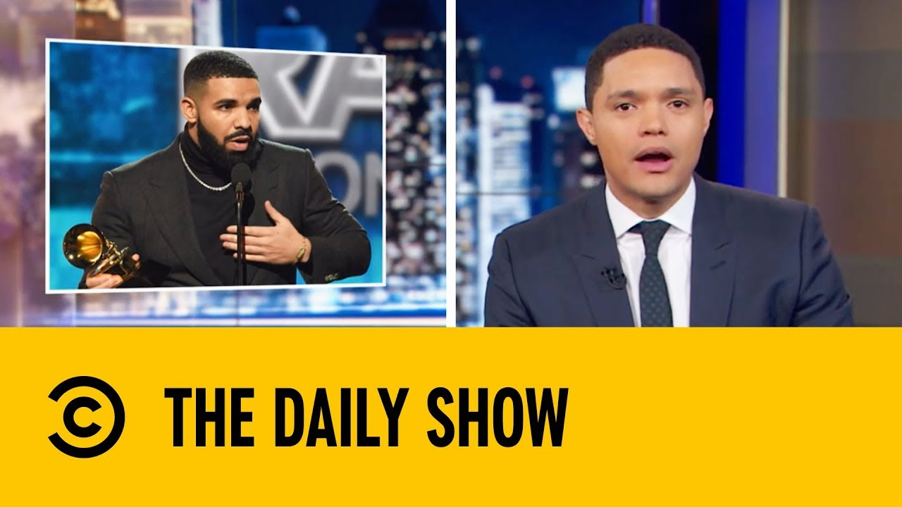 Drake's Rushed Grammy Acceptance Speech | The Daily Show with Trevor Noah