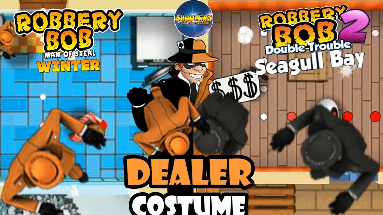 Robbery Bob  – New Costume:  DEALER - Part 21