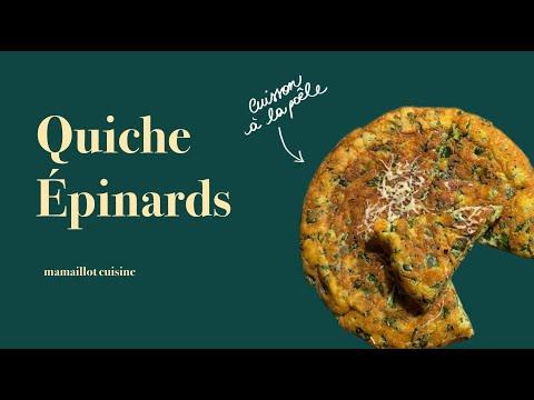 quiche-épinards-cuite-à-la-poêle