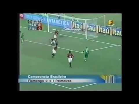 Flamengo 0x1 Palmeiras - Campeonato Brasileiro 2004