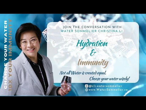 ERW Know What: Kangen Water Demo 2018 by the 1st Canadian Water Sommelier Christina Li