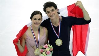 Tessa Virtue, Scott Moir Free Dance at 2016 Grand Prix Final | CBC Sports
