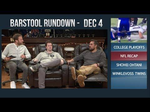 Barstool Rundown - December 4, 2017