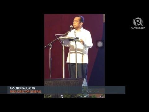 NEDA Director General Arsenio Balisacan at 28th PH Economic Briefing