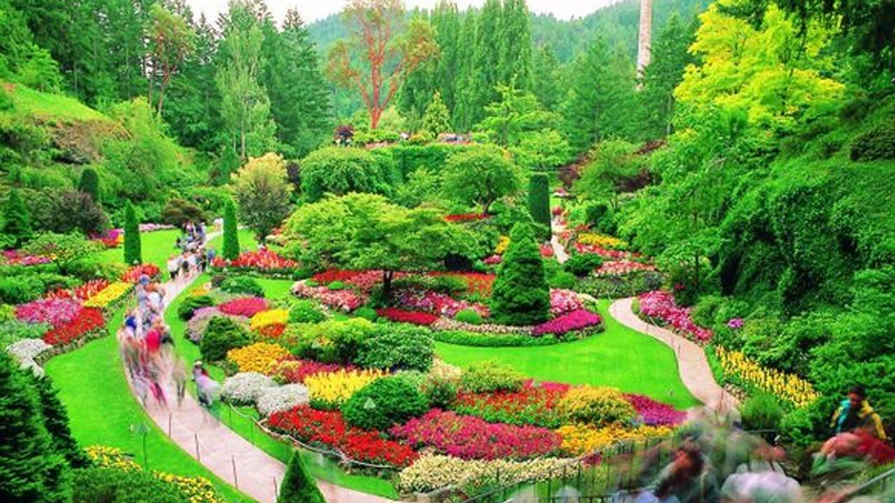 Wow Banget 10 Taman Bunga Terindah Di Dunia Youtube
